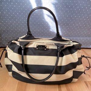Striped Kate Spade Stevie Baby Diaper Bag
